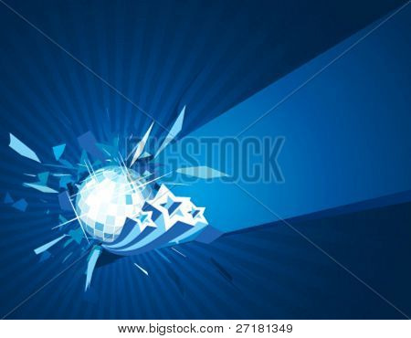 vector party background for design