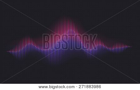 Abstract Sound Wave  Vector & Photo (Free Trial) | Bigstock