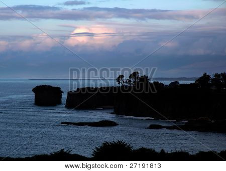 Coast Line Near Cape Foulwind