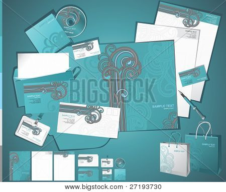 corporate business layout