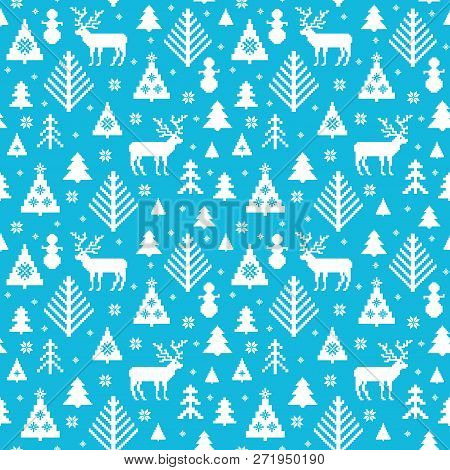Kntted Christmas Motives Pattern