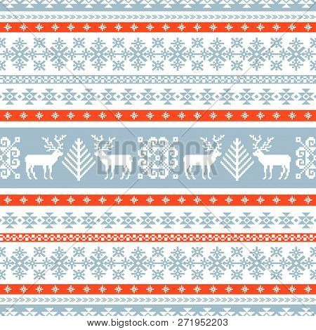 Winter Knitted Pattern