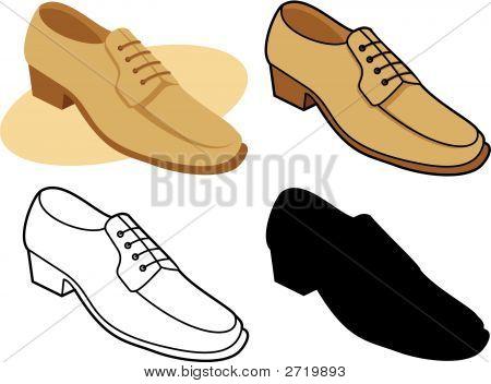 Male Shoe 01