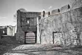 Cornstejn castle ruins, Czech Republic poster