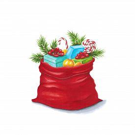 Santa's Sack Painted Markers