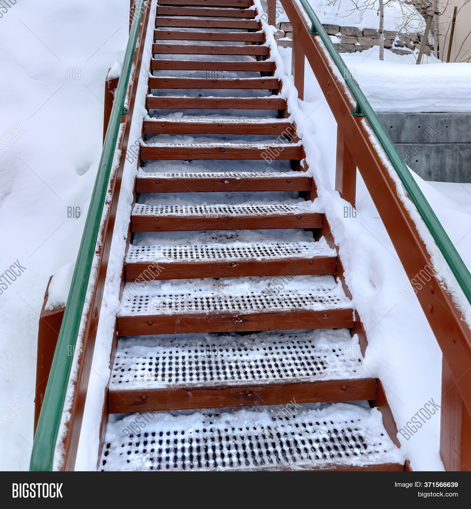Image of: Square Outdoor Stairs Image Photo Free Trial Bigstock
