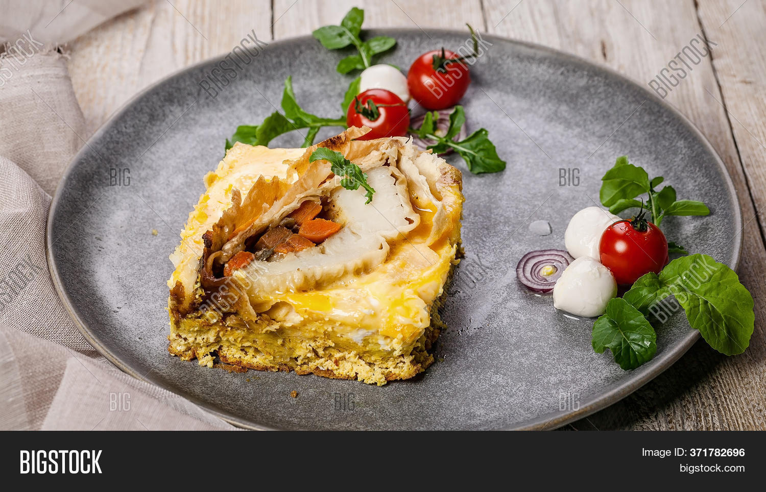 Food Banner Omelet Image Photo Free Trial Bigstock