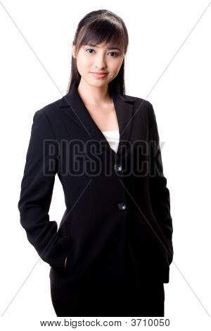 Gorgeous Asian Female Executive