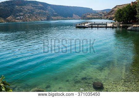 River Course In Gaziantep City In Turkey