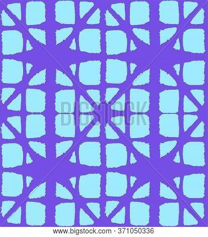 Japanese Tie Dye Seamless Pattern. Bohemian Kimono Fabric. Premium Japanese Clothes Print. Artistic