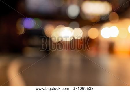 Abstract Blurry Pictures Of The Outdoor Party Festival And People Are Attending,background Blur Boke
