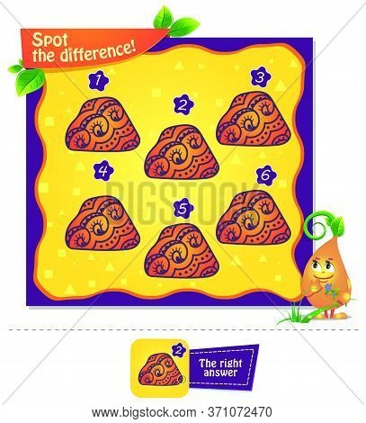 3 Spot The Difference Test