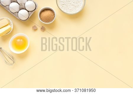 Baking Utensils And Ingredients