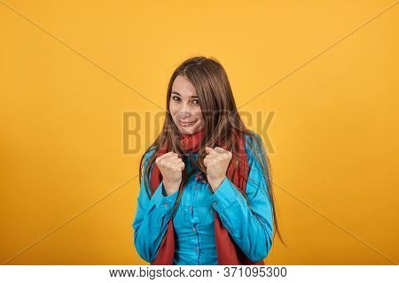 Clenching Fists, Grimacing As Yells, Either In Pain, Or Temper, Cheering Someone On. Bewilderment An