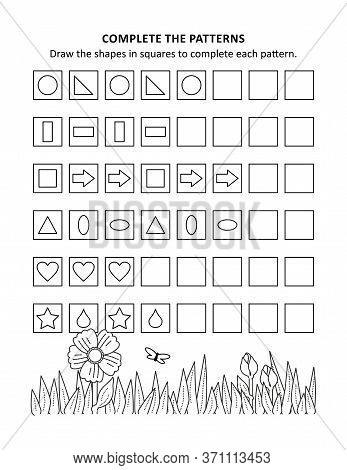 Печатьeducational Math Activity Sheet And Coloring Page For Kids To Learn And Practice Basic Skills