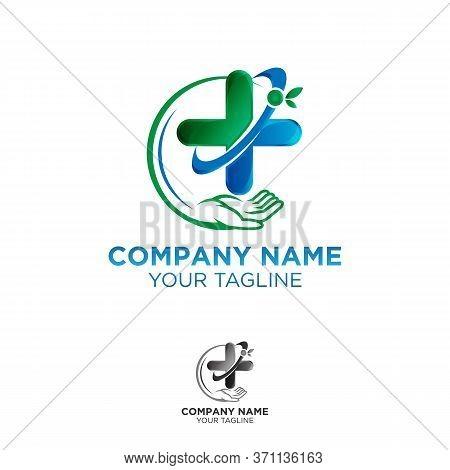 Health Shield Conceptual Logo Design For Health Organization, Logo Design.eps 10