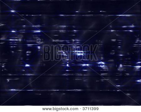 Fantas Alien Unknown Dark Surface With Blue Glows