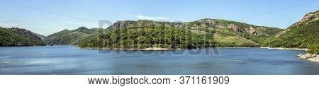 Panorama Of Studen Kladenets Dam - The Third Largest Dam In Bulgaria.