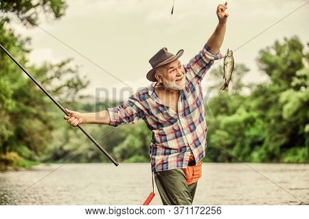 Hobby Sport Activity. Fish Farming Pisciculture Raising Fish Commercially. Pensioner Leisure. Fish O
