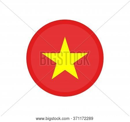 National Vietnam Flag, Official Colors And Proportion Correctly. National Vietnam Flag. Vector Illus