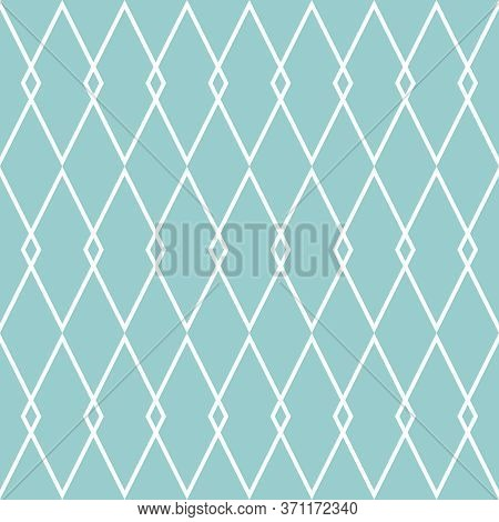 Tile Line Vector Pattern Or Green And White Wallpaper Background
