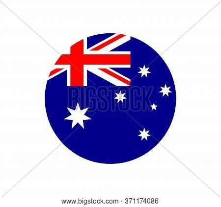 National Australia Flag, Official Colors And Proportion Correctly. National Australia Flag. Vector I