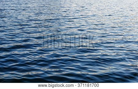 Photo Of Blue Water Background With Ripples
