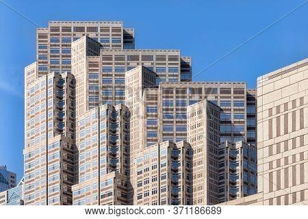 Tokyo, Japan - April 22, 2014: View Tokyo Metropolitan Government Building No.2, Also Referred To As