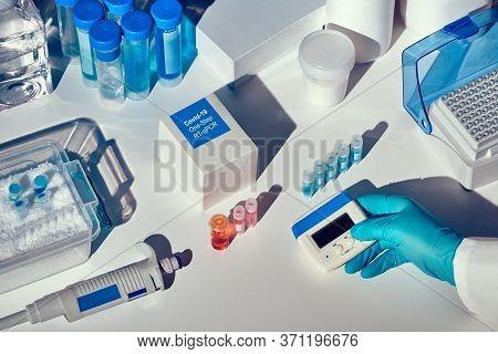 Novel Coronavirus 2019 Ncov Pcr Diagnostics Kit. This Is Rt-pcr Kit To Detect Presence Of 2019-ncov