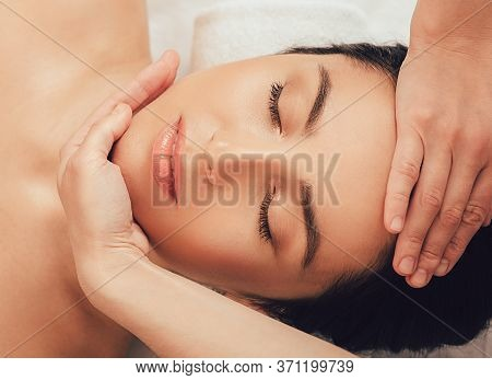 Special Massage For Lifting Female Face Skin, Rejuvenating A Face With A Massage. Skincare, Pamperin