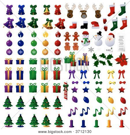 110 Christmas Icons