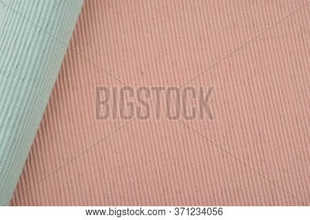 Blue And Pink Cotton Placemat Background, Cotton Placemat
