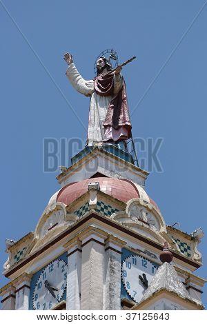 Sculpture on the Matriz Church