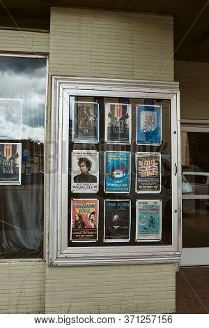 Boulder, Colorado - May 27th, 2020:  Posters Of Previously Scheduled Performances At Boulder Theater