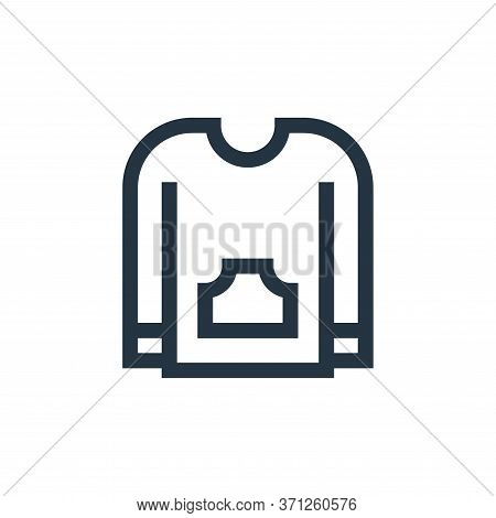 Sweater Vector Icon. Sweater Editable Stroke. Sweater Linear Symbol For Use On Web And Mobile Apps,