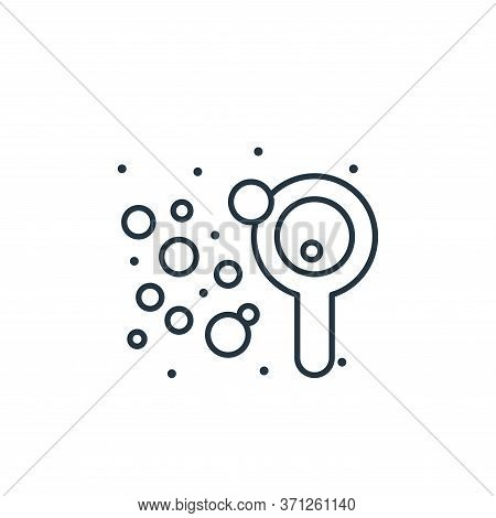 Soap Vector Icon. Soap Editable Stroke. Soap Linear Symbol For Use On Web And Mobile Apps, Logo, Pri