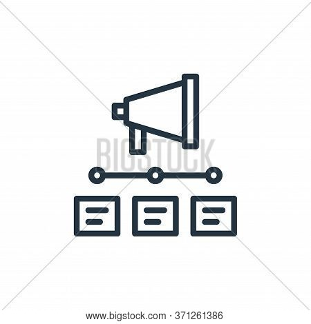 Timeline Vector Icon. Timeline Editable Stroke. Timeline Linear Symbol For Use On Web And Mobile App