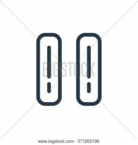 Folders Vector Icon. Folders Editable Stroke. Folders Linear Symbol For Use On Web And Mobile Apps,