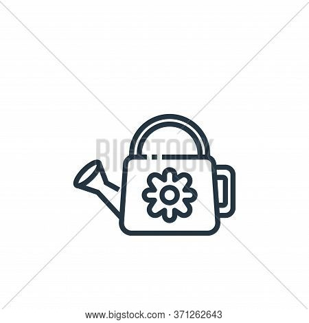 Watering Can Vector Icon. Watering Can Editable Stroke. Watering Can Linear Symbol For Use On Web An