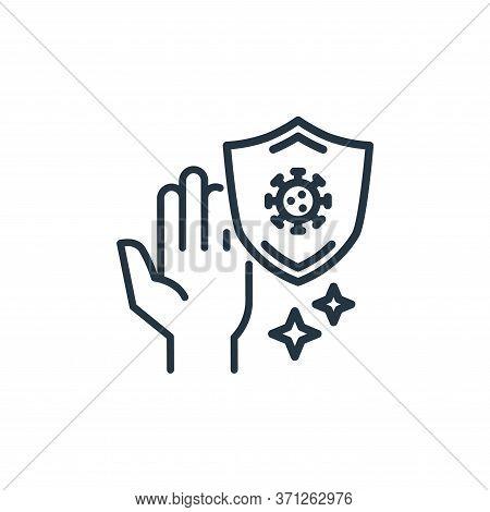 Antivirus Vector Icon. Antivirus Editable Stroke. Antivirus Linear Symbol For Use On Web And Mobile