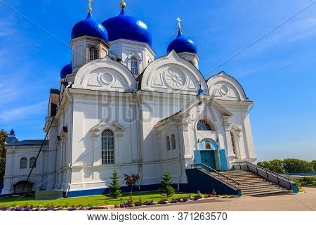Cathedral Of The Bogolyubovo Icon Of Our Lady In Bogolyubovo Convent In Vladimir Oblast, Russia