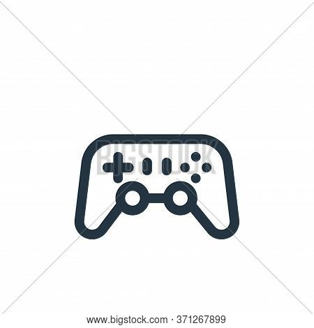 Gamepad Vector Icon. Gamepad Editable Stroke. Gamepad Linear Symbol For Use On Web And Mobile Apps,
