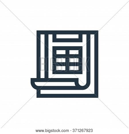 Scoring Vector Icon. Scoring Editable Stroke. Scoring Linear Symbol For Use On Web And Mobile Apps,