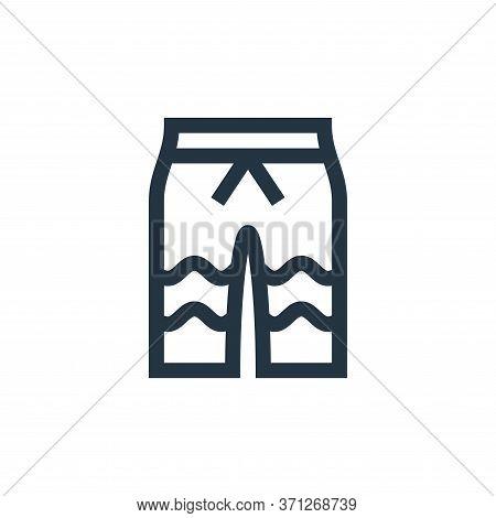 Swimwear Vector Icon. Swimwear Editable Stroke. Swimwear Linear Symbol For Use On Web And Mobile App