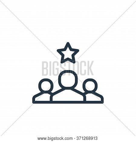 Best Employee Vector Icon. Best Employee Editable Stroke. Best Employee Linear Symbol For Use On Web