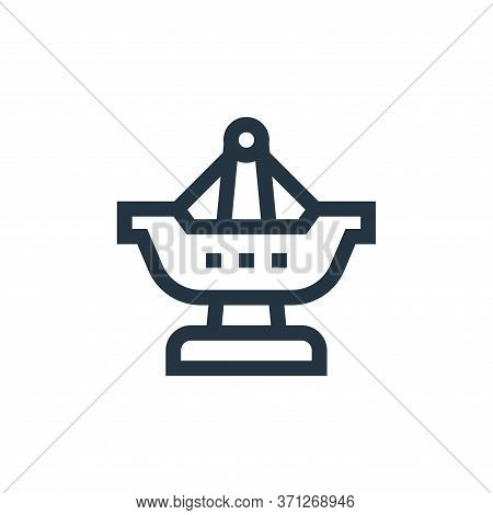 Fair Ship Vector Icon. Fair Ship Editable Stroke. Fair Ship Linear Symbol For Use On Web And Mobile