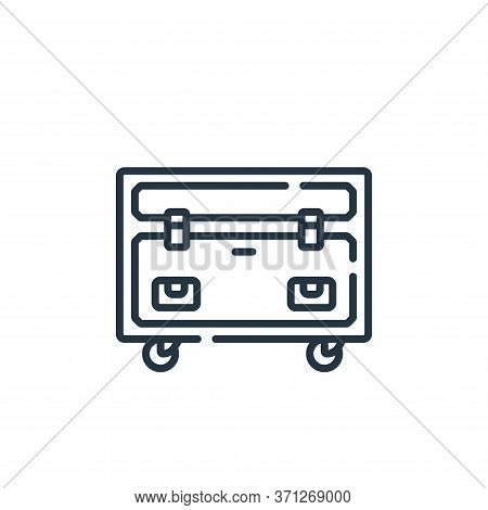 Equipment Vector Icon. Equipment Editable Stroke. Equipment Linear Symbol For Use On Web And Mobile