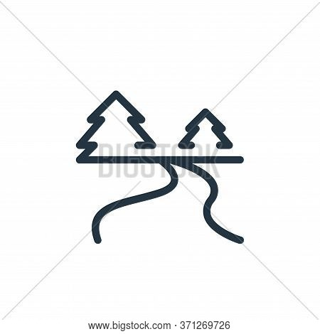 River Vector Icon. River Editable Stroke. River Linear Symbol For Use On Web And Mobile Apps, Logo,