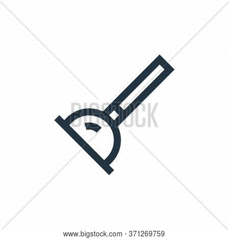Plunger Vector Icon. Plunger Editable Stroke. Plunger Linear Symbol For Use On Web And Mobile Apps,
