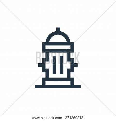 Fire Hydrant Vector Icon. Fire Hydrant Editable Stroke. Fire Hydrant Linear Symbol For Use On Web An